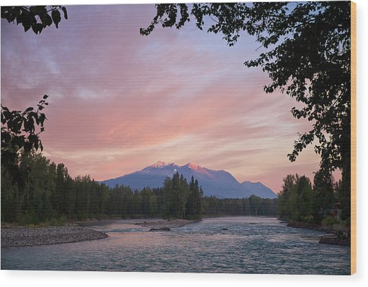Hudson Bay Mountain British Columbia Wood Print