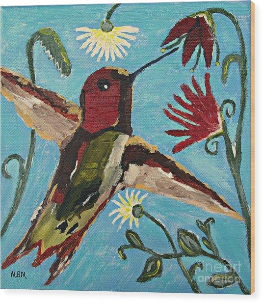Hummingbird No. 2 Wood Print