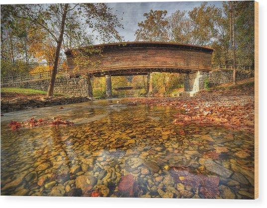 Humpback Bridge Wood Print