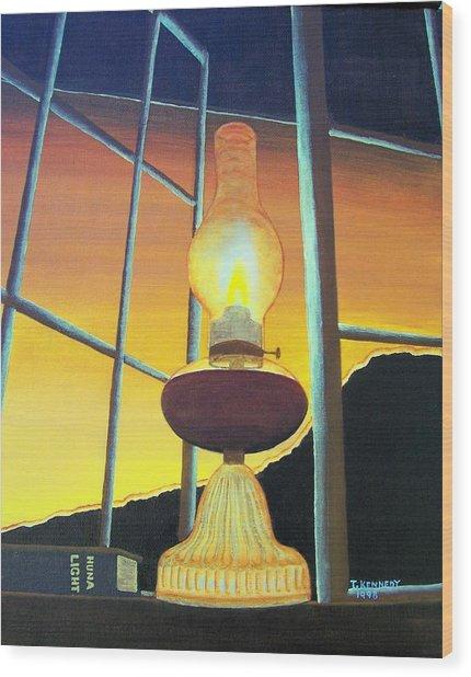 Huna Light Wood Print