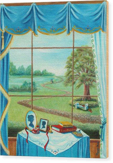 Hunt For Mr. Darcy Wood Print
