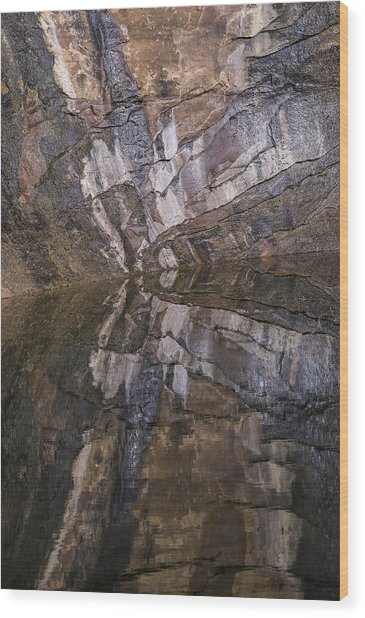 Hunter Canyon Seep Wood Print