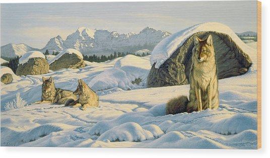 Hunter's Rest Wood Print