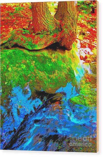 Hyper Childs Y53 Wood Print