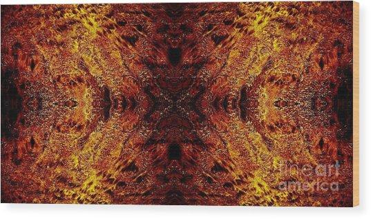 Hypnotic Sand Wood Print