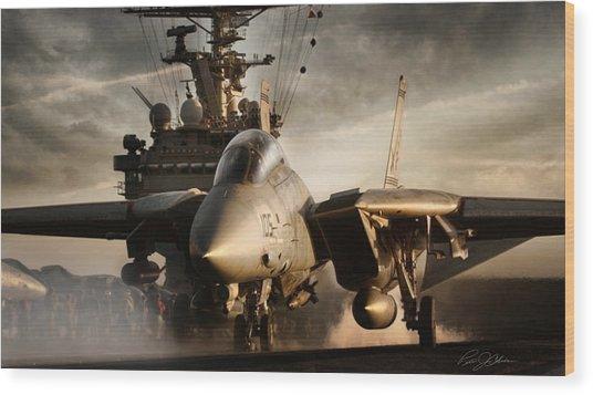 I Am Legend F-14 Wood Print