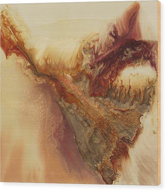 I Dreamed I Could Fly Wood Print by Lia Melia