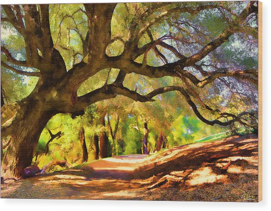 I Gave My Word To This Tree Wood Print