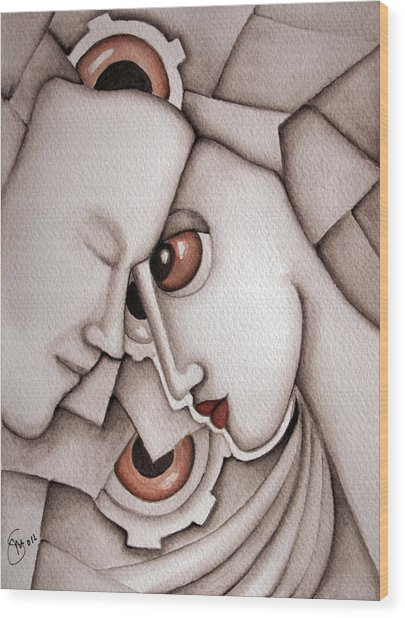 I Have Dreamed Of You Wood Print by Simona  Mereu