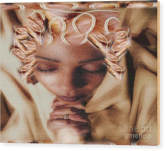 I Pray To Lord My Daily Prayer Wood Print
