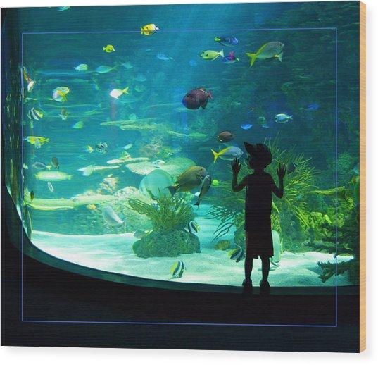 I See Fish Wood Print