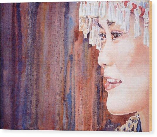 I See Wood Print by Sarah Kovin Snyder
