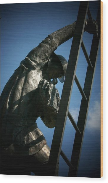 Iaff Fallen Firefighters Memorial  2 Wood Print