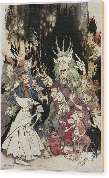 Ibsen: Peer Gynt Wood Print