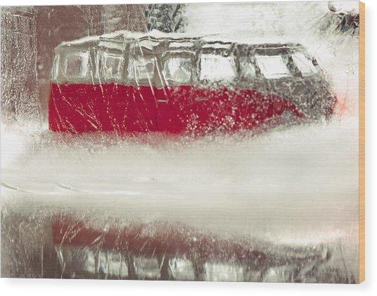 Ice Age Vw Wood Print