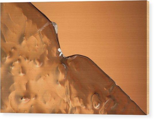 Ice No.019 Wood Print by Kolomija