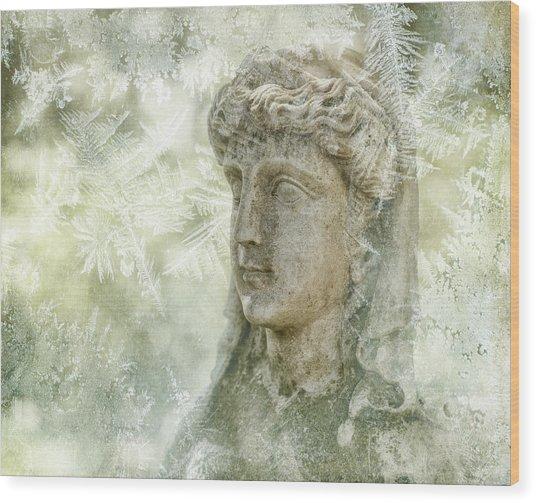 Ice Queen Wood Print