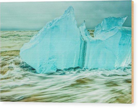 Iceberg Flow Wood Print