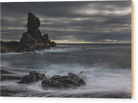 Iceland, Dritvik Wood Print by Jaynes Gallery