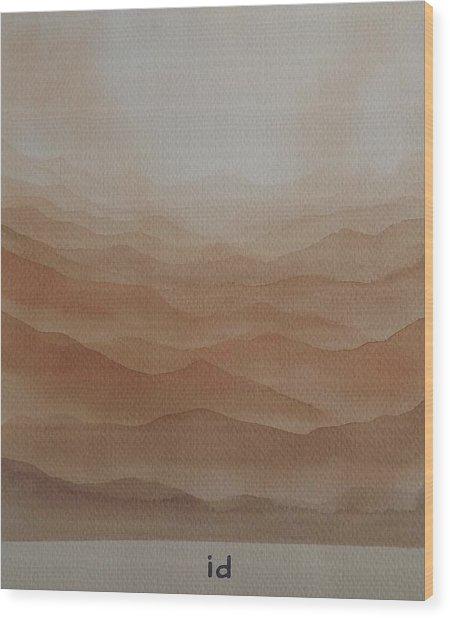 id Wood Print
