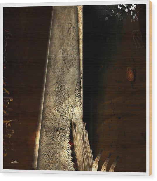 Idol Fiction Wood Print by James VerDoorn