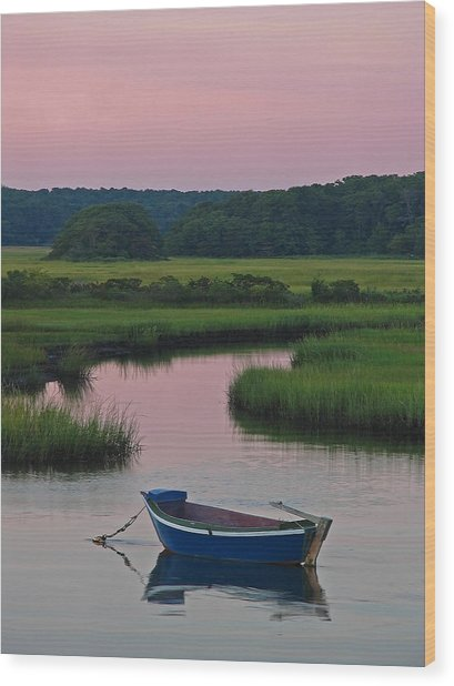 Idyllic Cape Cod Wood Print