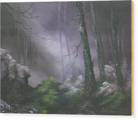 If You Go Down In The Woods Today ? Wood Print