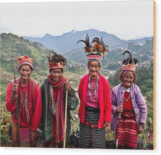 Ifugao Wood Print