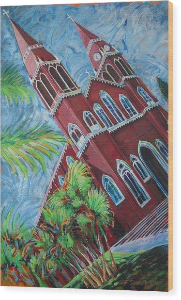 Iglesia Grecia  Costa Rica Wood Print