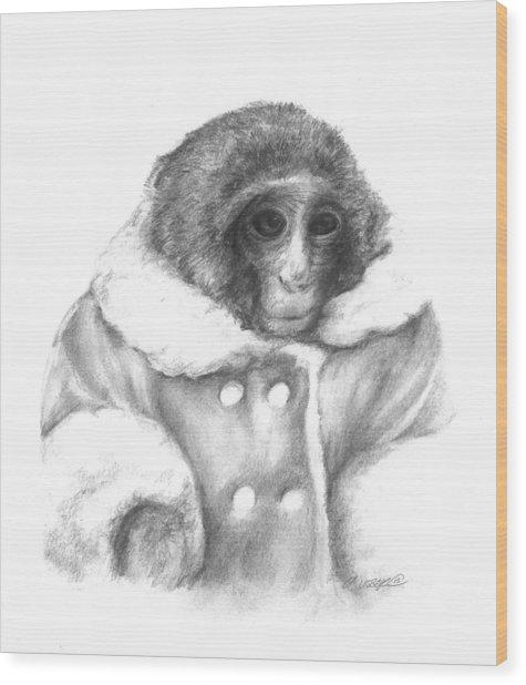 Ikea Monkey  Wood Print