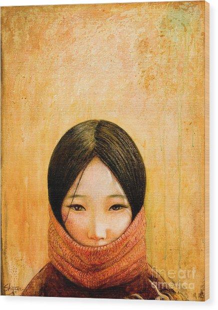Image Of Tibet Wood Print