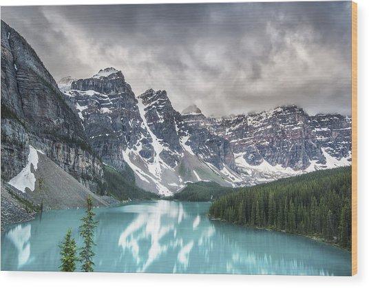 Imaginary Waters Wood Print