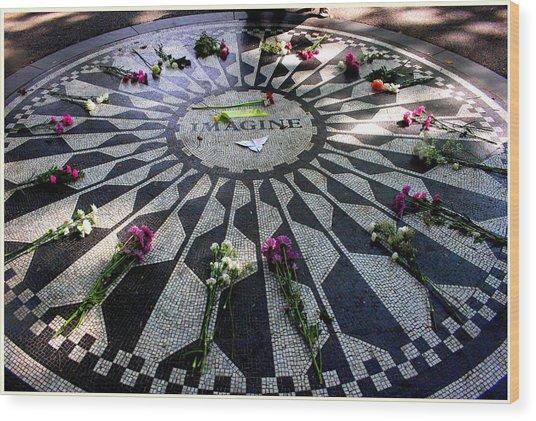Imagine - A Tribute To John Lennon Wood Print