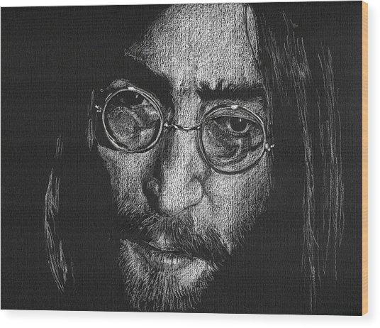 Imagine - John Lennon Wood Print