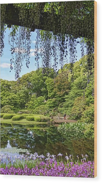 Imperial Gardens Wood Print