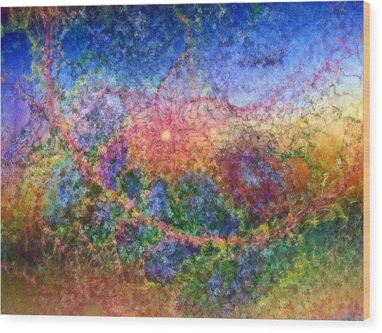Impressionist Dreams 1 Wood Print