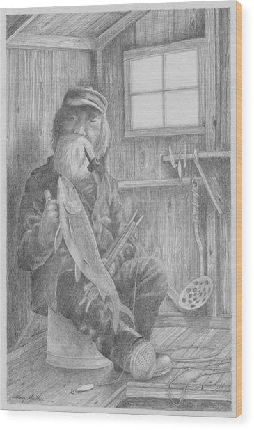 In The Bob-house Wood Print