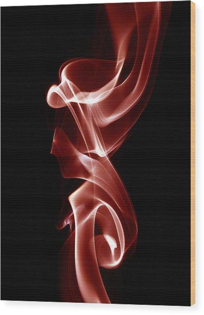 Incendere - 8471 Wood Print