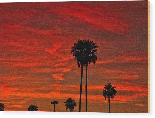 Incense Wood Print by Marquis Crumpton