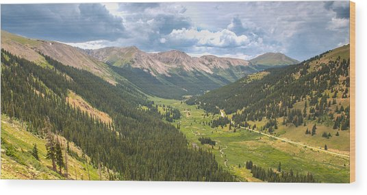 Independence In Colorado - Color Wood Print
