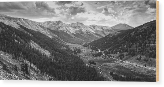 Independence In Colorado Wood Print