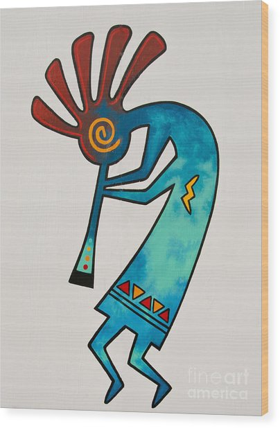 Wood Print featuring the photograph Indian Dance Two by Mae Wertz
