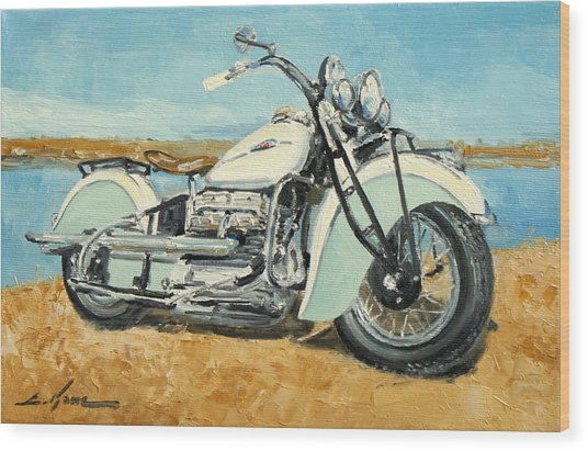 Indian Four 1941 Wood Print