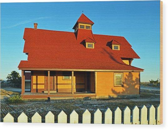 Indian River Lifesaving Station Museum Wood Print