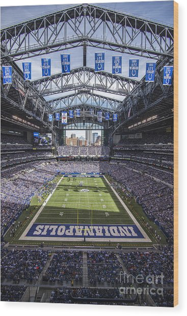 Indianapolis Colts 2 Wood Print