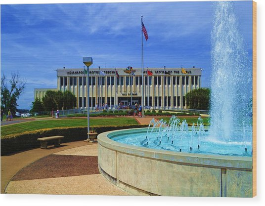 Indianapolis Motor Speedway Museum Wood Print