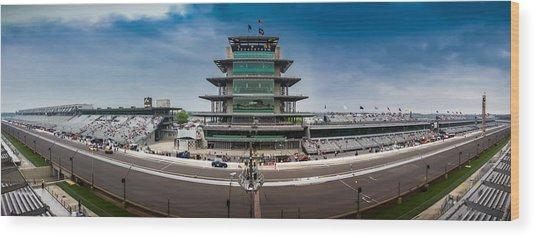 Indianapolis Motor Speedway Wood Print