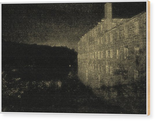 Industrial Age Wood Print