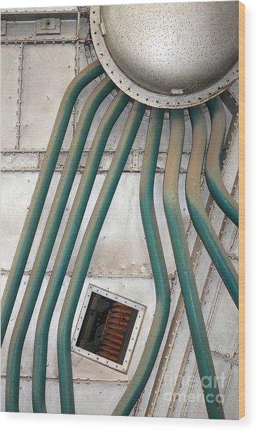 Industrial Art Wood Print