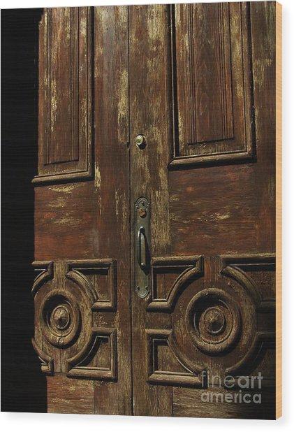 Ingress Wood Print